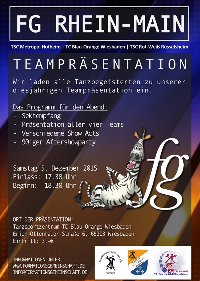 Teampräsentation der FG Rhein-Main am 05.12.2015